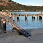 The Dunedin City Council has approved the restoration of  Aramoana wharf. Photos by Stephen...