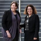The Dunedin City Council has recruited Kristy Rusher (left) and Karilyn Canton to provide in...