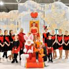 The Dunedin Ice Skating Club rehearses Alice in Winterland at the Dunedin Ice Stadium last night....