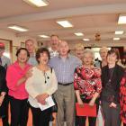 The Dunedin Operatic Carol Singers (from left) Mhairi Saunders, Eddie Frazer, Toni Wilson, Brent...