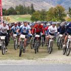 The first wave in last year's Tour de Wakatipu leaves Millbrook. Entries for this year's event,...