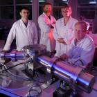 The forensic chemistry skills of scientists (from left) David Barr, Dr Malcolm Reid, Dr Claudine...