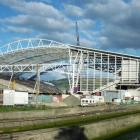 The Forsyth Barr Stadium is being touted as a venue for rugby league tests. Photo Peter McIntosh