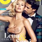 The German edition of GQ magazine featuring a photo of footballer Sami Khedira with his German...