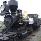 The K92 locomotive. Photo by Sally Rae.