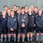The King's High School under-15 hockey team. Front row (left to right): Connor McDonald, Zac...