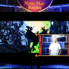 The Movie Mail feature allows you to send video messages embedded in scenes from the film to...