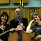 The new Delgirl line-up is (from left) Lynn Vare, John Dodd and Erin Morton. Photo by Inge Andrew.