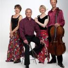 The New Zealand String Quartet(from left)Helene Pohl, Douglas Beilman, Gillian Ansell and Rolf...