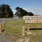The Ocean View Recreation Reserve, pictured yesterday, is a possible site where freedom camping...