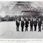 The official opening of the Brydone roller skating rink in the agricultural buildings on the 13th...