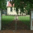 The old Tuapeka Mouth School and memorial gates, which may get a category II historic place...