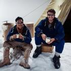 The only way is up for Ed Hillary (Chad Moffit) and Tenzing Norgay (Sonam Sherpa) in the Mt...