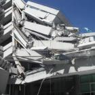 The PGC building after the February 22 quake.