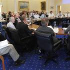 The public gallery was packed yesterday during discussion about Dunedin City Libraries budget...