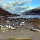 The Queenstown Airport. Photo by ODT.