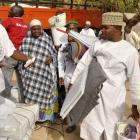 The Red Cross in Kano distributes relief materials to displaced victims of the Boko Haram...