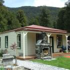 The repaired and refurbished southern wing at the Paradise Trust property near Glenorchy. Photos...