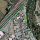 The reserve encroachment by businesses in Frankton's industrial zone - the area for a proposed...