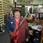 The Scottish Shop owner Erin Hogan  (66) is selling her business. Photo by Linda Robertson.
