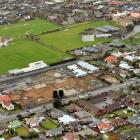 The site for a proposed Countdown Mosgiel supermarket. Photo by ODT.