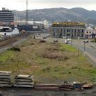 The  site of the proposed high-rise hotel. Photo by Stephen Jaquiery.