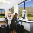 The Southern Institute of Technology's hairdressing salon has a spectacular view of the...