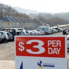 The St Andrew St car park in Dunedin, which quadrupled its occupancy rate after its daily fee was...
