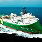 The state-of-the-art year-old 89m <i>Polarcus Alima</i> is scheduled to be in the Great South...