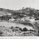 The township at Halfmoon Bay, Stewart Island. - Otago Witness, 11.5.1910.