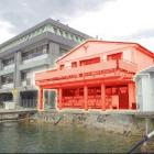 The University of Otago's aquarium at Portobello (highlighted) is to be demolished. Photo by...