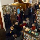 The unofficial launch of the Dunedin Writers and Readers Festival at the Athenaeum Library last...