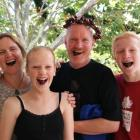The Wardill family, of Cromwell, Lisa (left),  Anna,  Mike  and Bob (right) took almost all top...