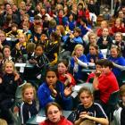 The year 5 and 6 <i>Otago Daily Times Extra!</i> spelling quiz at Tahuna Intermediate School last...