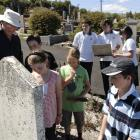 There for the reading . . . Historic Cemeteries Conservation Trust of New Zealand chairman...