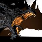 This dragon will be created by a holographic projection in Oamaru's Victorian precinct for the...