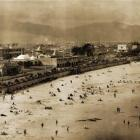 This panorama, taken from above the saltwater swimming pool, captures the extent of St Clair's...