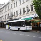 This Princes St block, south of the Octagon, is one of the bus issues facing a Dunedin City...