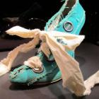 This Vivienne Westwood shoe comes from the retrospective show at Selfridges Department Store in...