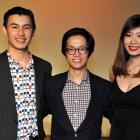 Thomas Ding, Jeffrey Ong and Maple Goh, all of Dunedin.