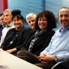 Those involved in the new Whanau Ora-led community health centre. From front to back is WellSouth...