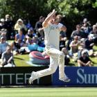 Tim Southee has been dropped for the second test. Photo by Peter McIntosh