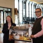 Toitu Otago Settlers Museum director Linda Wigley and Octa Associates Ltd senior project manager...