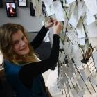 Toitu Otago Settlers Museum visitor host Janine Bruce ties another museum visitor's vision for...