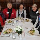 Bev Aitken, of Dunedin, Joy Bradley, of Motueka, Glenda Burns, Jane Holgate, Margaret Tegg, Peg...
