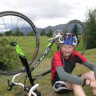 Triathlete Alex Dodds (16), of Lake Hawea, has spent his school holidays training. Photo by...