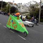 Otago Polytechnic mechanical engineering student Kosei Murai (18) started off well . . . Photo by...