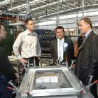 Turning up the heat . . . Prime Minister John Key, flanked by National's Dunedin candidates...