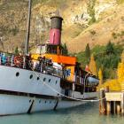 Twin Screw Steamship Earnslaw shows no sign of slowing down in her 102nd year and continues to...