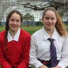 Twins and rising gymnastics stars Karisa (left) and Kaley Webster, of Colac Bay. Photo by Allison...